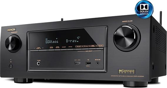 Denon AVR-X2200W Receiver