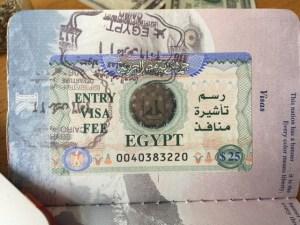 Egypt Tourist Visa