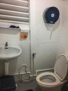 Liveaboard bathroom