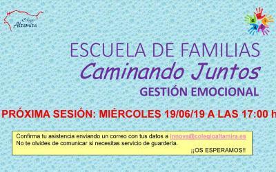 Escuela de familias: Gestión emocional
