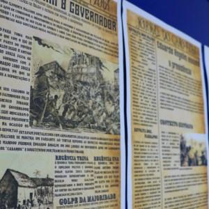 Jornalistas de Época! Estudantes do 8º ano produzem manchetes para jornais do Século XIX!