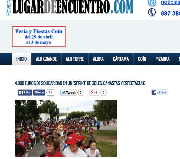 Objetivo solidaridad  Colegio privado El Pinar