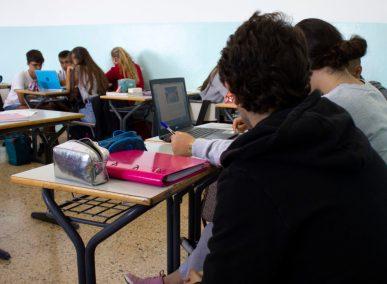 Colegio Jaime Balmes. Clase de Bachillerato