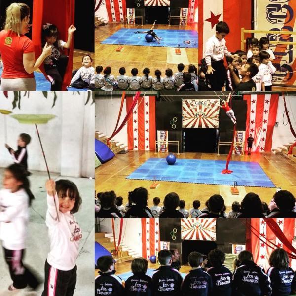 Escuela de Circo MSB Colegio Jaime Balmes