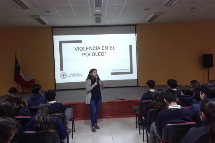 CHARLA SOBRE VIOLENCIA EN EL POLOLEO