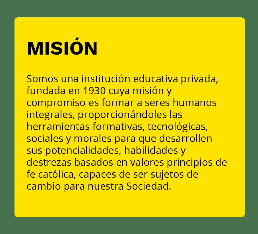 Misión Colegio San Sebastián