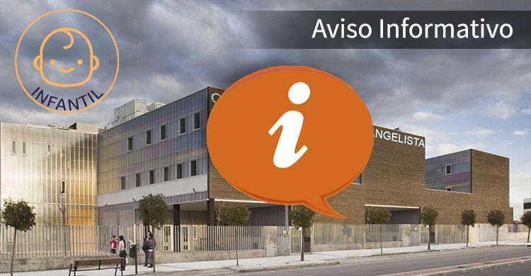 Aviso Informatico Infantil ColegioSJE