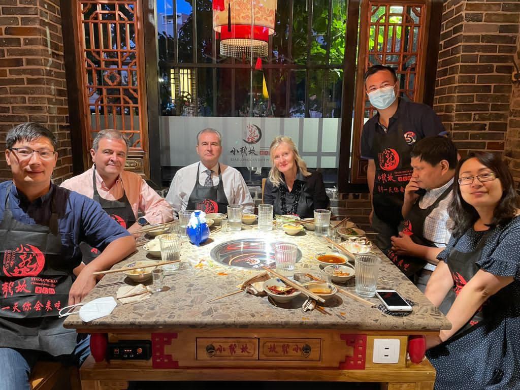 Reunion empresarios chinos
