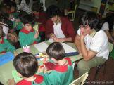 Alumnos de 6to año con Jardineros 13
