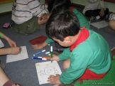 Alumnos de 6to año con Jardineros 16