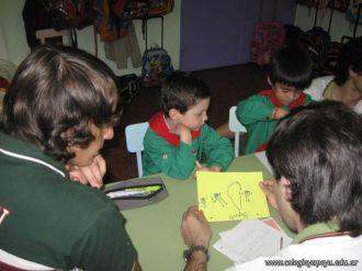 Alumnos de 6to año con Jardineros 25