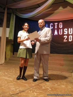 Acto de Clausura de la Secundaria 2009 30