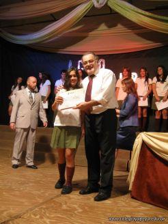 Acto de Clausura de la Secundaria 2009 56