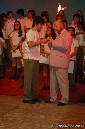 Acto de Colacion de la Promocion 2009 139