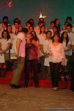 Acto de Colacion de la Promocion 2009 223