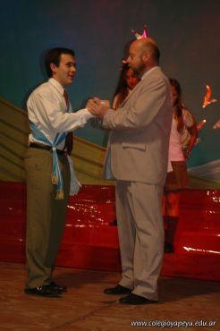 Acto de Colacion de la Promocion 2009 47