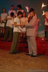Acto de Colacion de la Promocion 2009 80