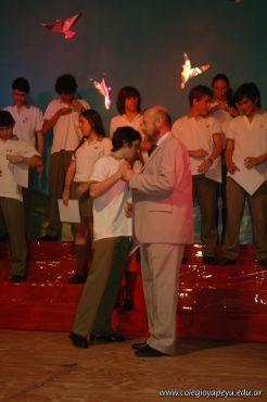 Acto de Colacion de la Promocion 2009 85