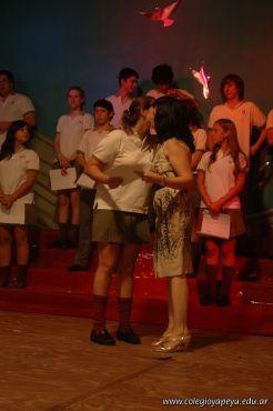 Acto de Colacion de la Promocion 2009 86