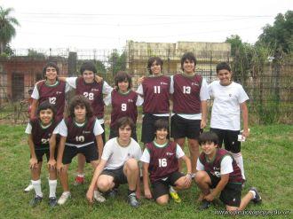 Amistoso de Futbol con el Mecenas 18