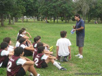 Amistoso de Futbol con el Mecenas 21