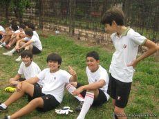 Amistoso de Futbol con el Mecenas 27
