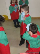 Acto de la Bandera del Jardin 2010 37