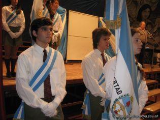 Promesa de Lealtad a la Bandera de la Secundaria 8