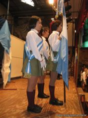 Promesa de Lealtad a la Bandera de la Secundaria 9