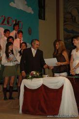 Acto de Colacion de la Promocion 2010 218