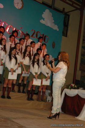 Acto de Colacion de la Promocion 2010 271