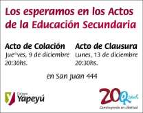 Actos-Secundaria
