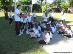 3er grado empezo el Campo Deportivo 77