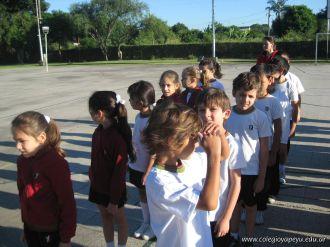 3er grado empezo el Campo Deportivo 9