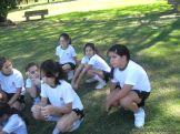 4to grado empezo el Campo Deportivo 15