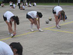 La Secundaria empezo el Campo Deportivo 104