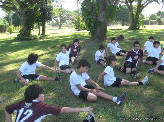 La Secundaria empezo el Campo Deportivo 40