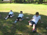 La Secundaria empezo el Campo Deportivo 43