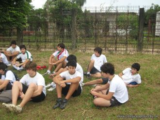 La Secundaria empezo el Campo Deportivo 91