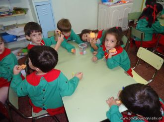 Primera semana de clases del Jardin 147