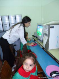 Los peques en Salas de Informatica 18