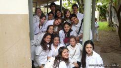 Visita a la catedra de Microbiologia 5