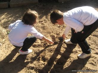 1er grado Trabajando en la Huerta 2