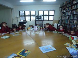 El Jardin leyendo en Biblioteca 12