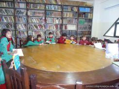 El Jardin leyendo en Biblioteca 22