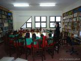 El Jardin leyendo en Biblioteca 25
