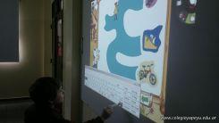 Paca la vaca con la Pizarra Digital 16
