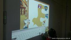 Paca la vaca con la Pizarra Digital 24