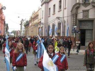 Desfile en Homenaje y Festejo de Cumple 129