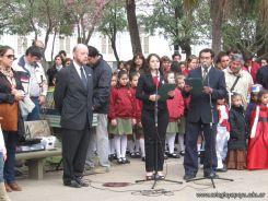 Desfile en Homenaje y Festejo de Cumple 183